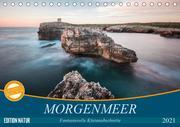 MORGENMEER - Fantasievolle Küstenabschnitte (Tischkalender 2021 DIN A5 quer)