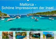 Mallorca - Schöne Impressionen der Insel (Wandkalender 2021 DIN A2 quer)
