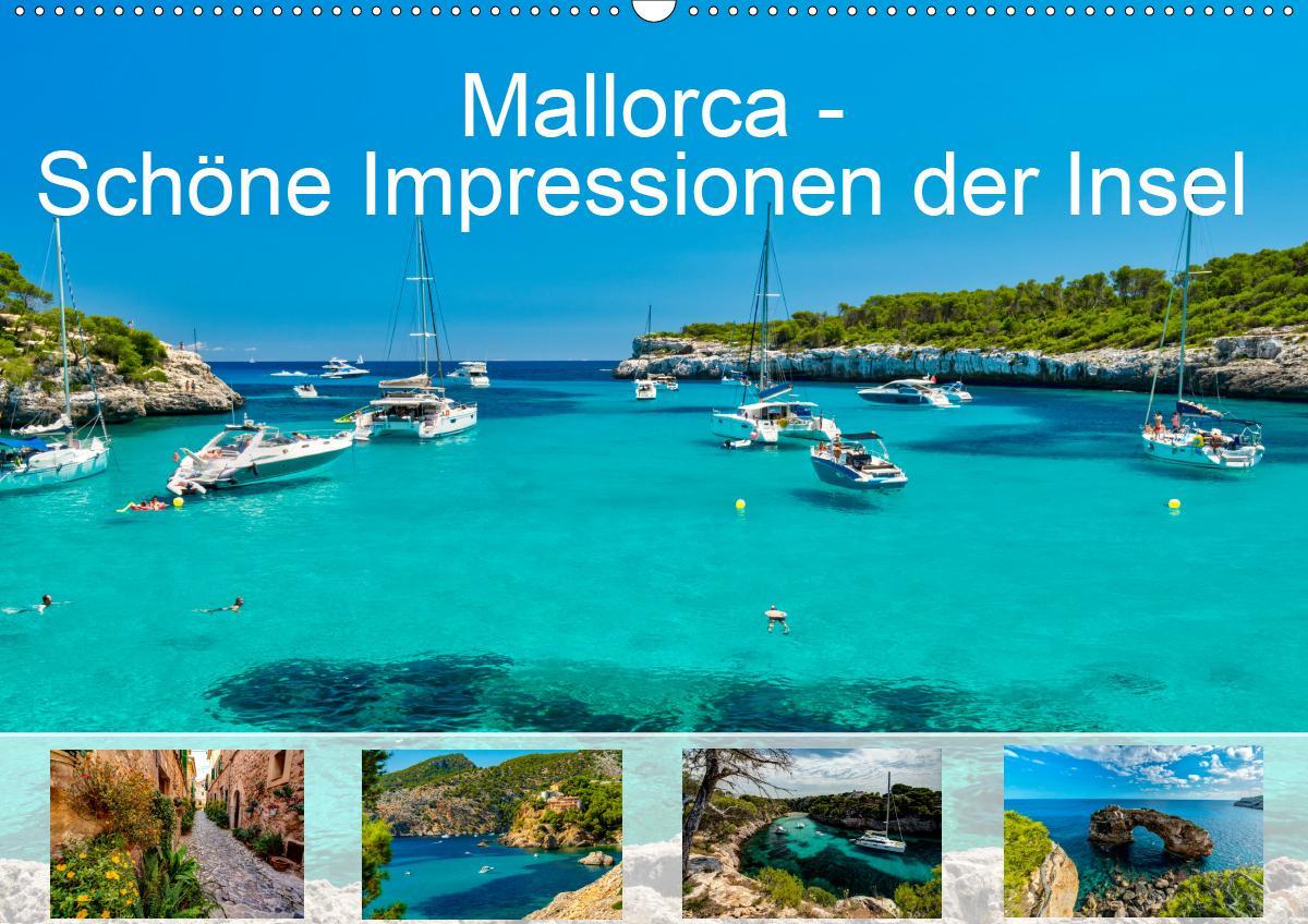 Mallorca - Schöne Impressionen der Insel (Wandkalender 2021 DIN A2 quer) als Kalender