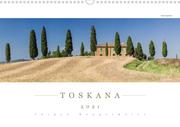 TOSKANA 2021 - Panoramakalender (Wandkalender 2021 DIN A3 quer)
