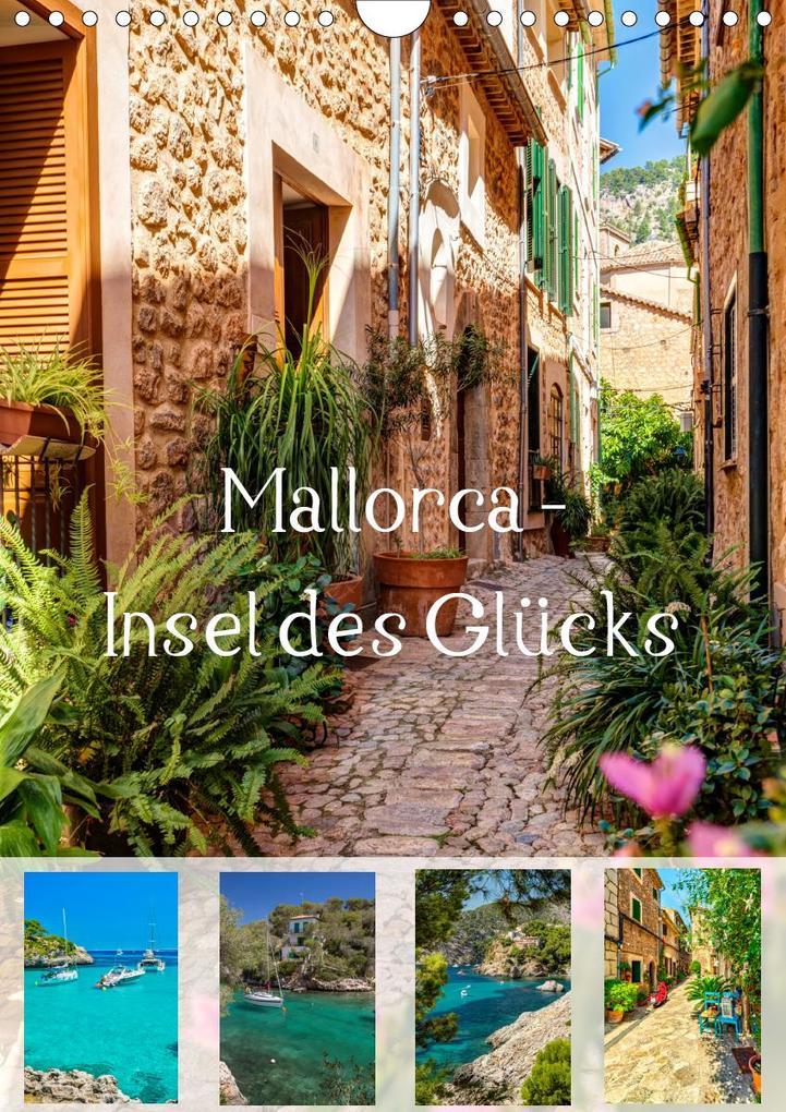 Mallorca - Insel des Glücks (Wandkalender 2021 DIN A4 hoch) als Kalender