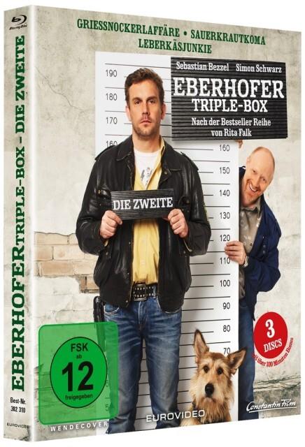 Die Zweite Eberhofer Triple Box als Blu-ray