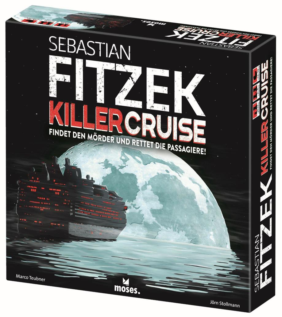 Sebastian Fitzek KillerCruise als Spielware