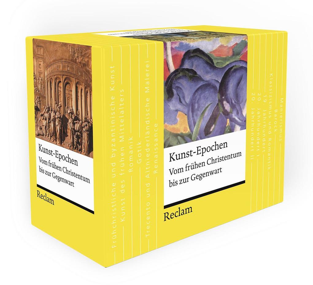 Kunst-Epochen. Vom frühen Christentum bis zur Gegenwart als Taschenbuch