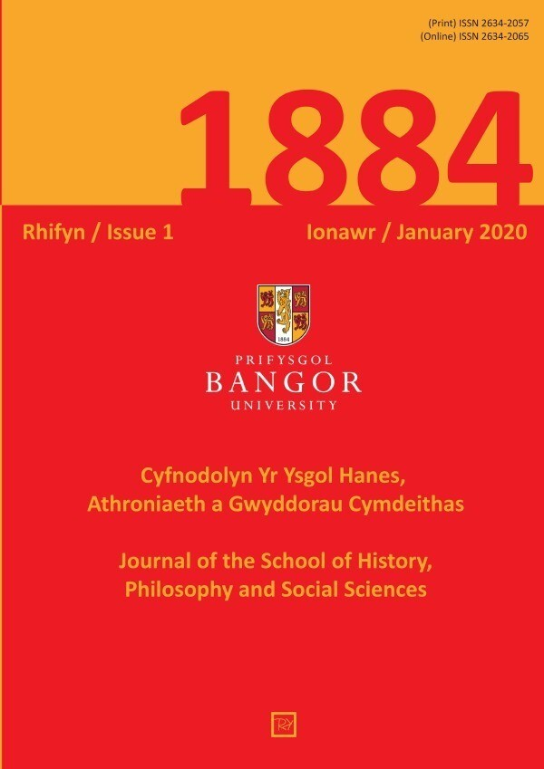 1884 Rhifyn / Issue 1, Ionawr / January 2020 als Buch (kartoniert)