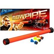 BestSaller 415 - Petron, Sureshot Blow Pipe, Kinder-Blasrohr mit 3 Darts, Set