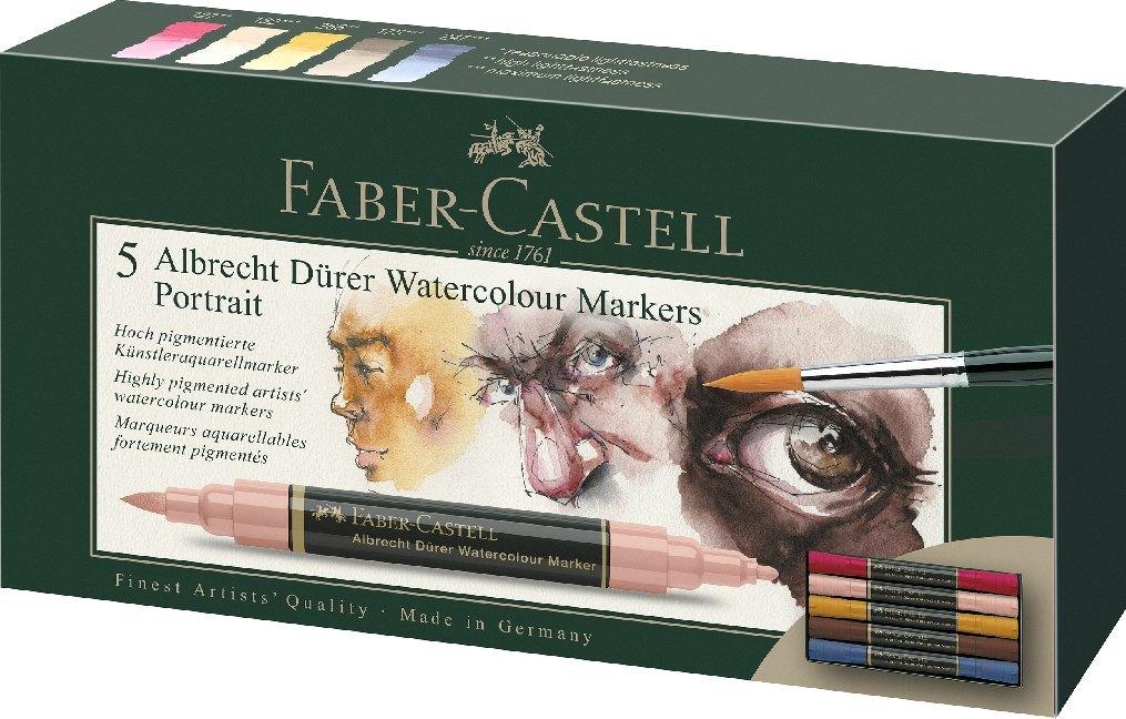 Faber-Castell Aquarellmarker Albrecht Dürer, 5er Etui, Portrait als Sonstiger Artikel