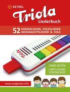 Triola Liederbuch - Kinderlieder, Volkslieder, Weihnachtslieder und Folk