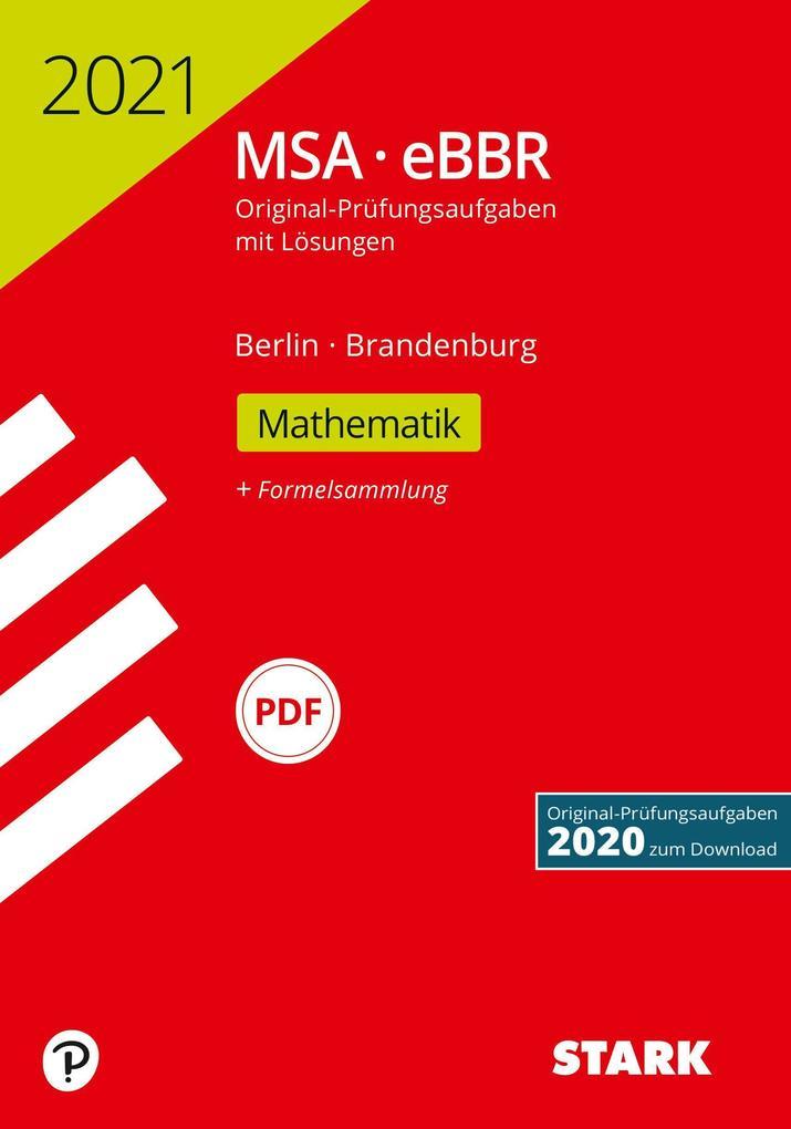 STARK Original-Prüfungen MSA/eBBR 2021 - Mathematik - Berlin/Brandenburg als Buch (kartoniert)
