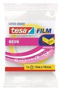 Klebefilm tesa Neon 10 m x 19 mm, pink/gelb