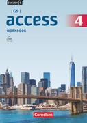 English G Access G9 Band 4 Ausgabe 2019: Workbook mit Audios online