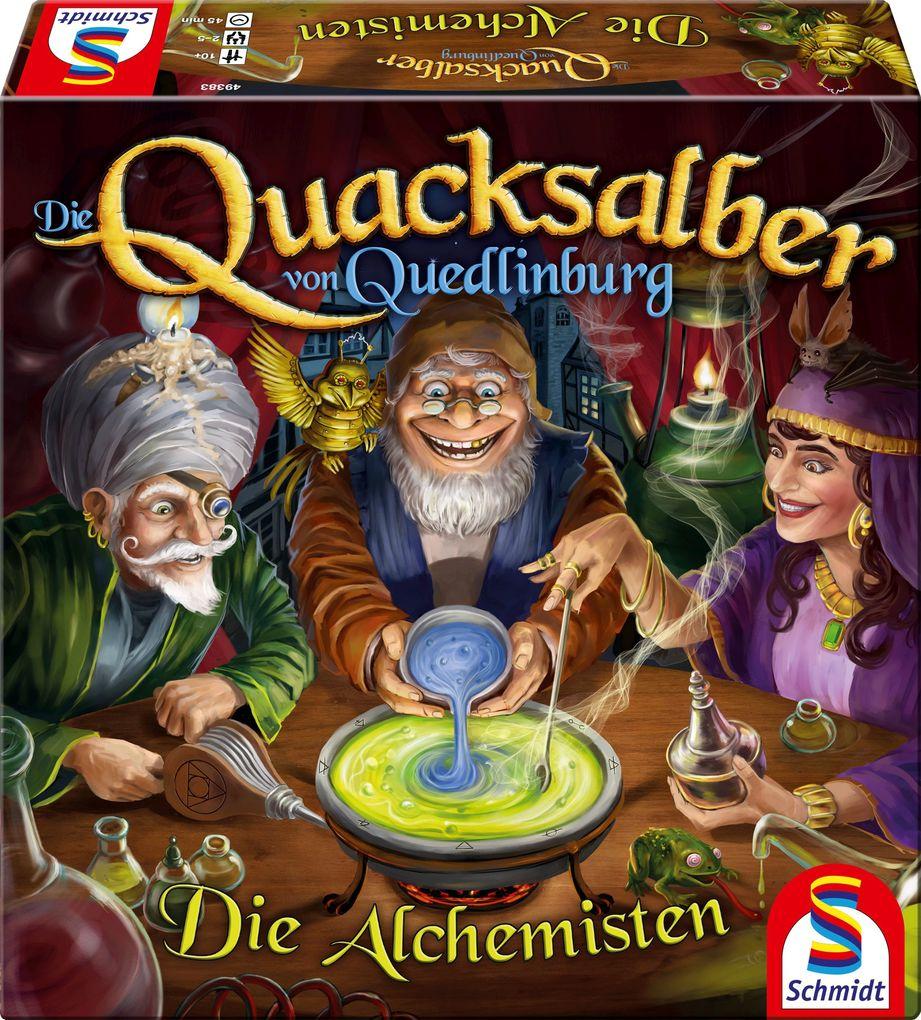 Die Quacksalber von Quedlinburg!, Die Alchemisten, 2. Erweiterung als Spielware