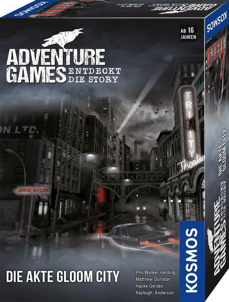 Adventure Games - Die Akte Gloom City als Spielware