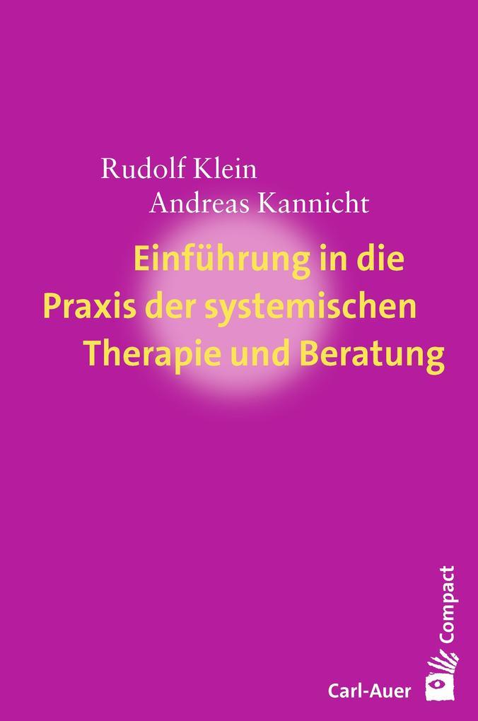 Einführung in die Praxis der systemischen Therapie und Beratung als eBook epub