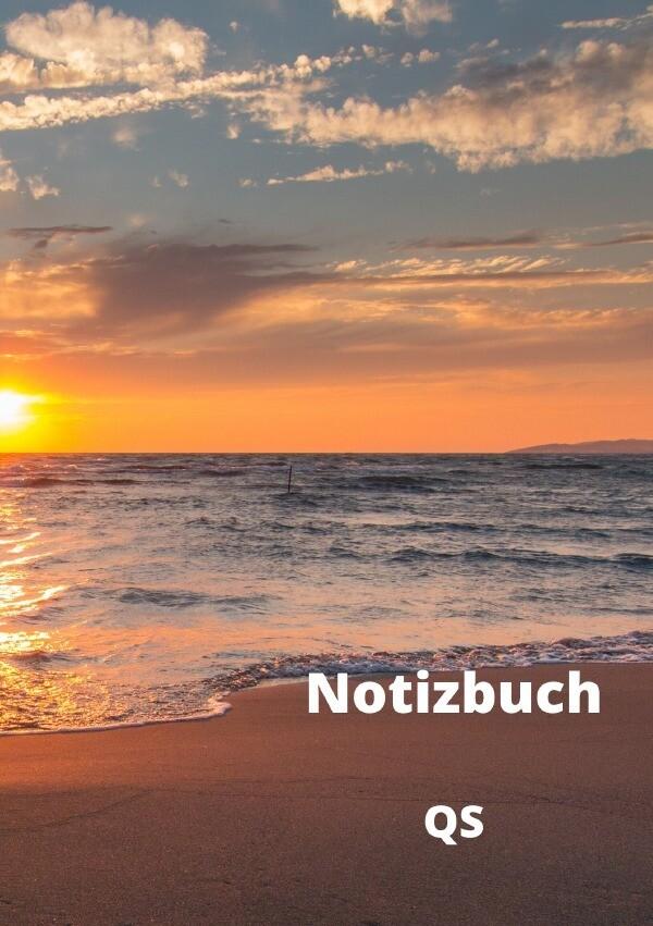 Notizbuch - Sonnenuntergang am Meer als Buch (kartoniert)