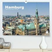 Hamburg Stadt an der Alster und Elbe (Premium, hochwertiger DIN A2 Wandkalender 2021, Kunstdruck in Hochglanz)
