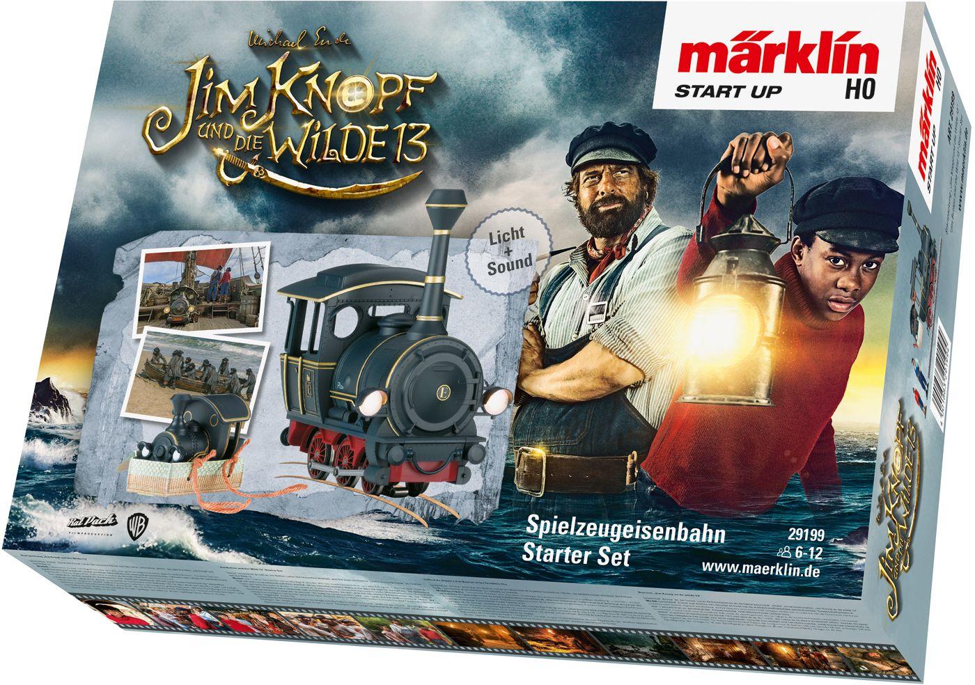 Märklin - Märklin Start up - Startpackung Jim Knopf und die Wilde 13 als Spielware