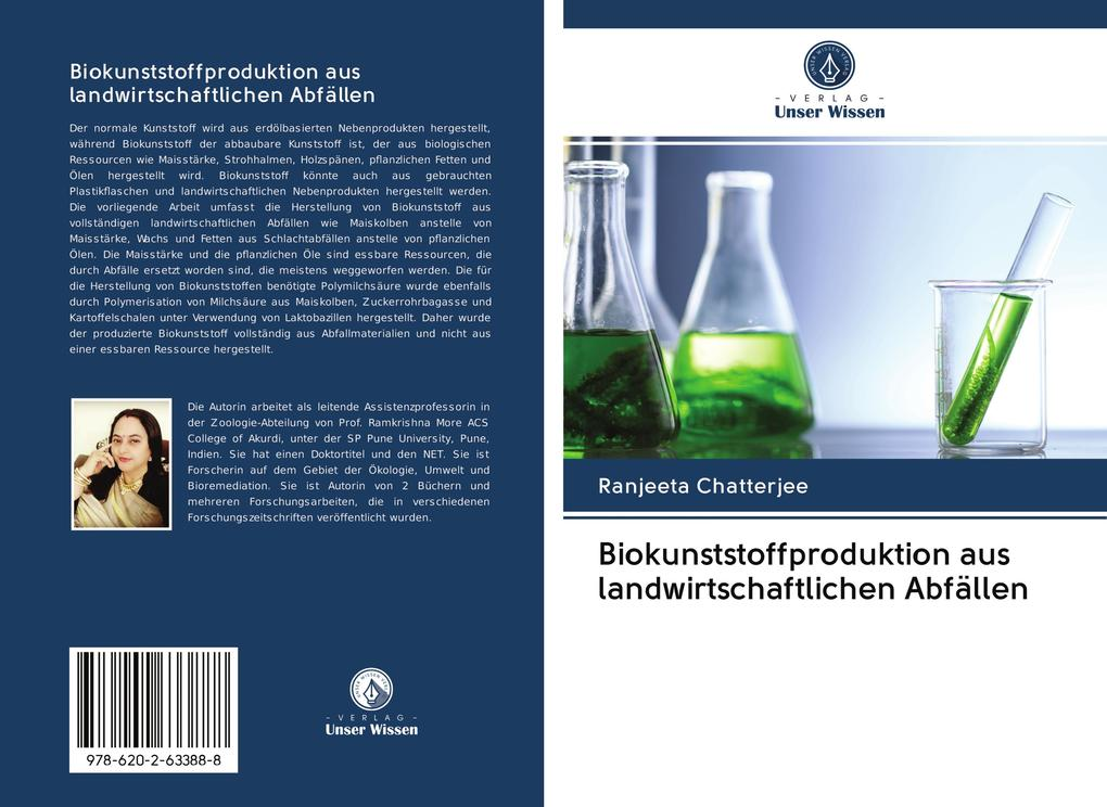 Biokunststoffproduktion aus landwirtschaftlichen Abfällen als Buch (kartoniert)