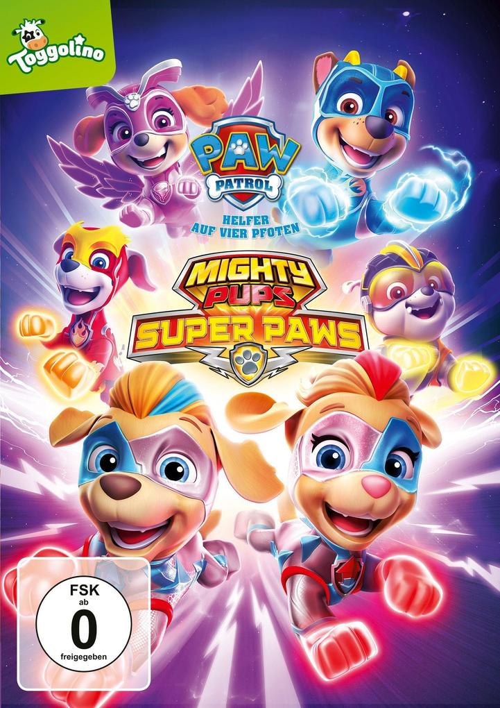 Paw Patrol: Mighty Pups Super Paws als DVD
