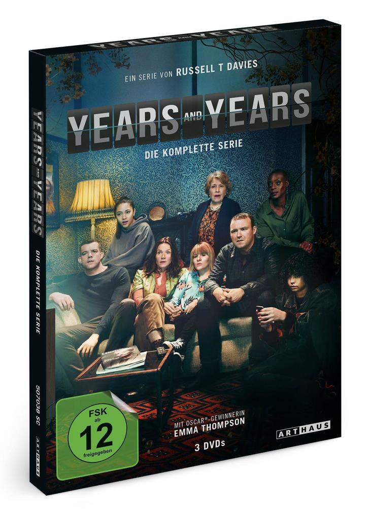 Years & Years. Die komplette Serie als DVD