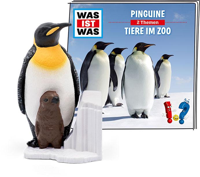 Tonie - WAS IST WAS: Pinguine / Tiere im Zoo als Spielware