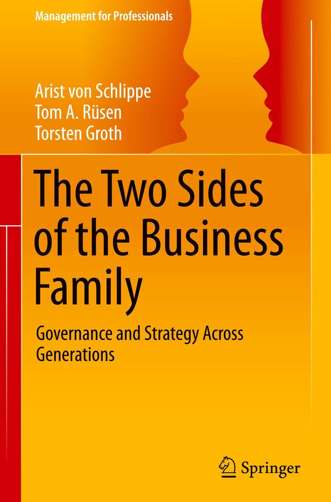 The Two Sides of the Business Family als Buch (gebunden)