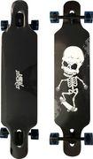 New Sports Longboard Skull, Länge 104 cm, ABEC 9
