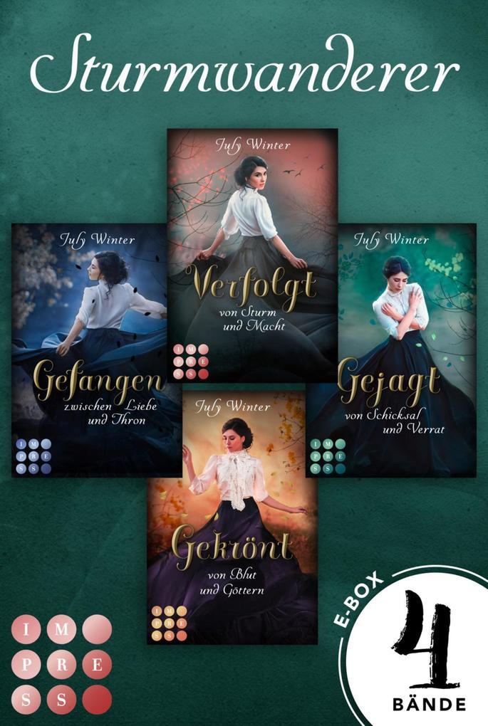 Sturmwanderer. Alle Bände der romantischen Fantasy-Reihe in einem Bundle! (Sturmwanderer) als eBook epub