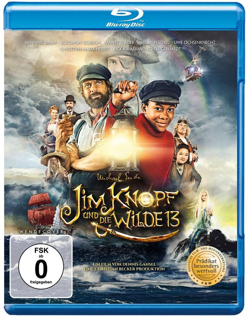 Jim Knopf und die Wilde 13 als Blu-ray