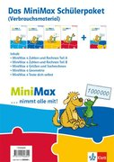 MiniMax 4. Schülerpaket (5 Hefte: Zahlen und Rechnen A, Zahlen und Rechnen B, Größen und Sachrechnen, Geometrie, Teste-dich-selbst) - Verbrauchsmaterial Klasse 4