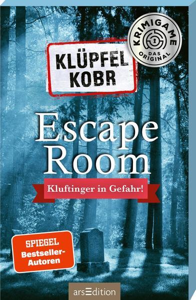 Klüpfel Kobr: Kluftinger in Gefahr. Ein Escape-Room-Spiel mit Kommissar Kluftinger als Spielware