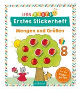 Lernraupe - Erstes Stickerheft - Mengen und Größen
