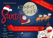 Santa kommt sicher! Der Coronaschutz Adventskalender zum Mitmachen für die ganze Familie - Hilf Santa bei seiner Reise um die Welt!