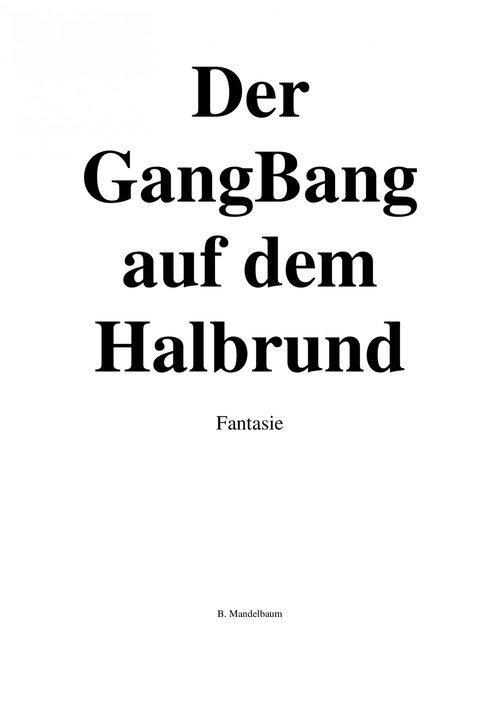 Der GangBang auf dem Halbrund als eBook epub