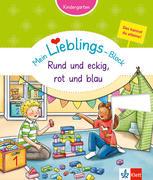 Mein Lieblings-Block Rund und eckig, rot und blau