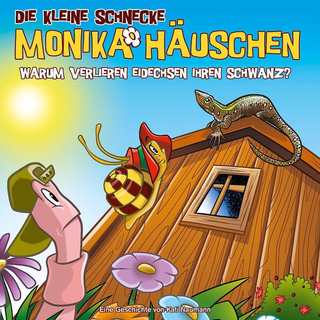 Die Kleine Schnecke Monika Häuschen 59: Warum verlieren Eidechsen ihren Schwanz? als CD