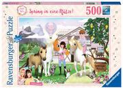 ViktoriaSarina - Spring in eine Pfütze! - Puzzle 500 Teile