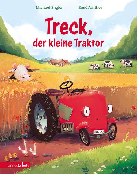 Treck, der kleine Traktor als Buch (gebunden)