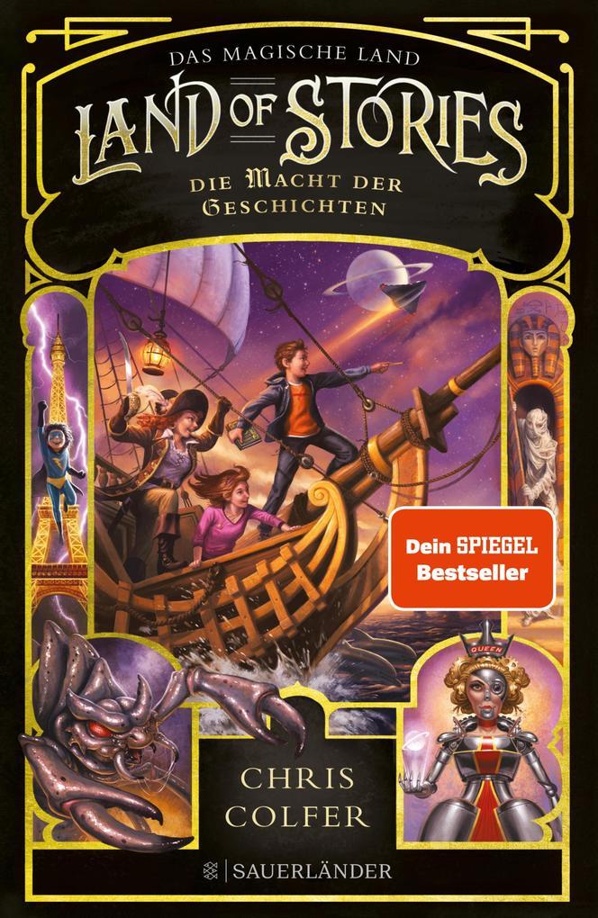 Land of Stories: Das magische Land 5 - Die Macht der Geschichten als eBook epub