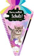 [Coppenrath Verlag - Schultüten-Kratzelb.: Cosmic School - Hurra,..., Kätzchen]