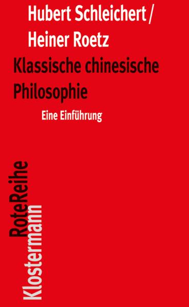 Klassische chinesische Philosophie als Buch (kartoniert)