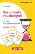 Das schnelle Vokabelspiel - Französisch - Lernjahr 3/4