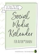 Social-Media-Kalender für Autor*innen