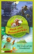 Hase und Holunderbär: Doppelband zum Lesenlernen - Hase und Holunderbär: Der Schatz auf der Holunderinsel / Der Dieb in der Heide