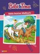 Bibi und Tina: Mein buntes Malbuch