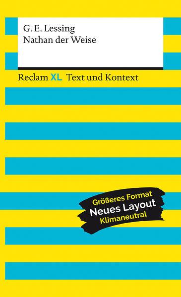 Nathan der Weise. Textausgabe mit Kommentar und Materialien als Taschenbuch