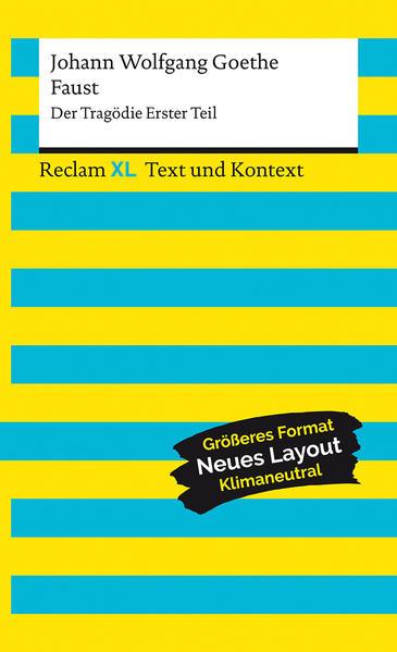 Faust. Der Tragödie Erster Teil. Textausgabe mit Kommentar und Materialien als Taschenbuch