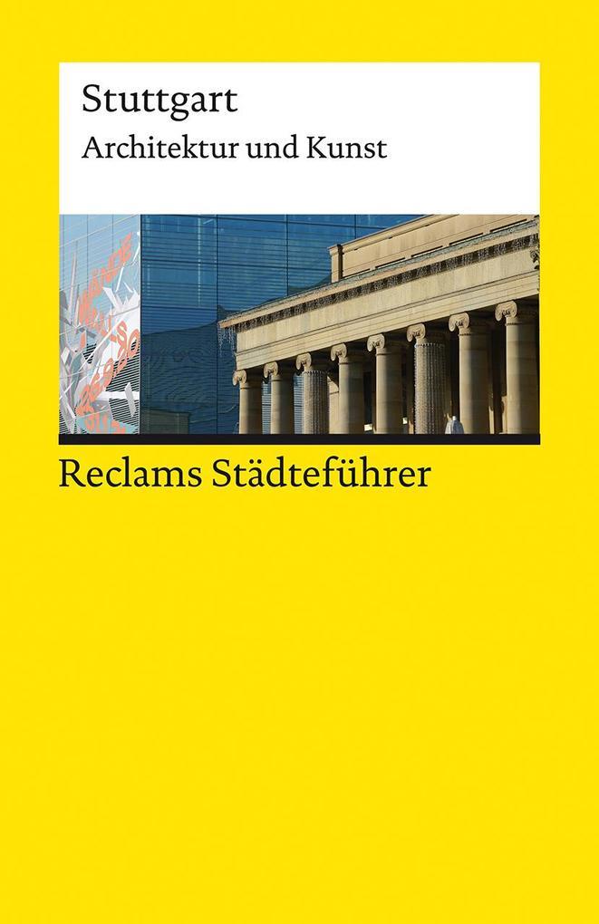 Reclams Städteführer Stuttgart als Taschenbuch