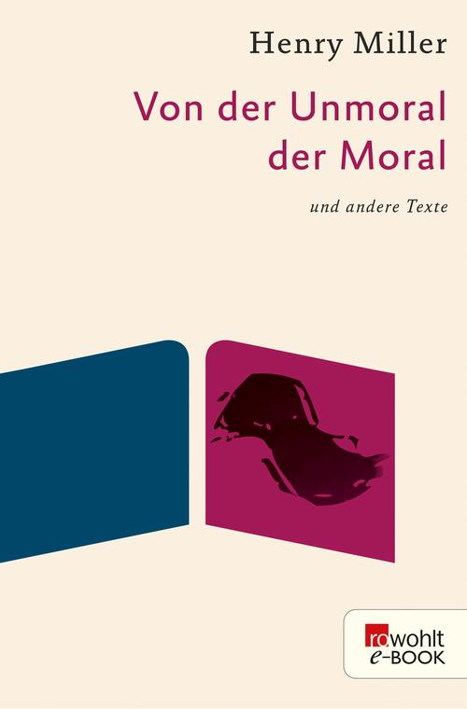 Von der Unmoral der Moral als eBook epub