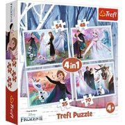 4 in 1 Puzzle - Disney Frozen 2 (Kinderpuzzle)